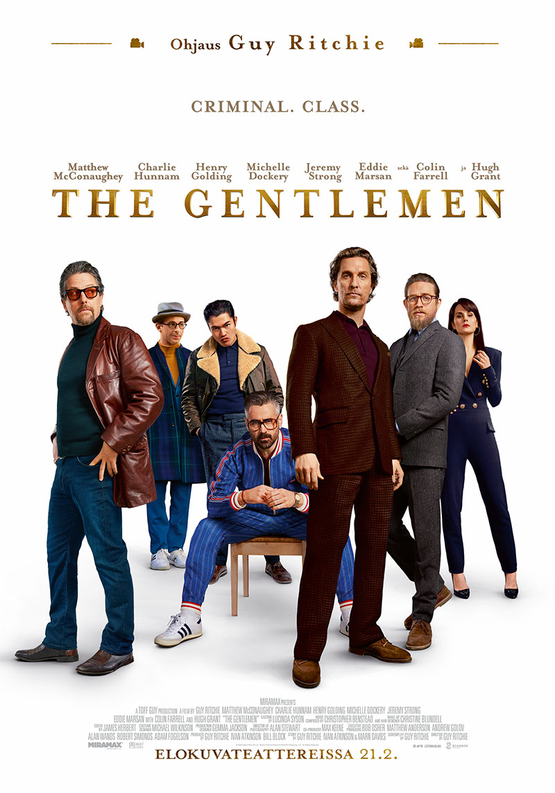 The Gentlemen -elokuvan juliste